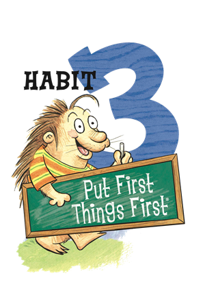 Image result for hab 3 happy kids first things first