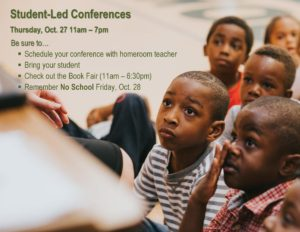 Student Led Conferences Fall 16